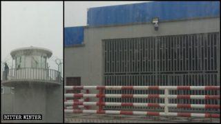 照片流出證新疆建大量再教育營關押維族人 八處監獄擴建完