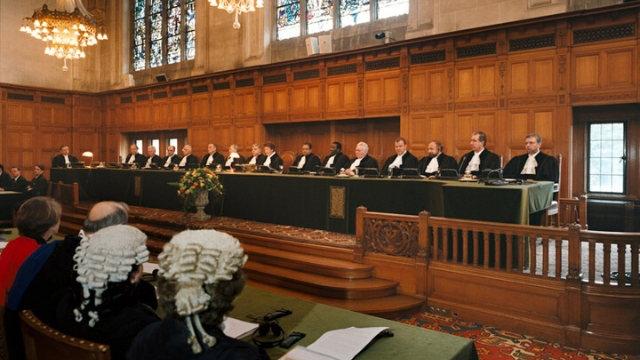 國際法院聽證會(公共領域)