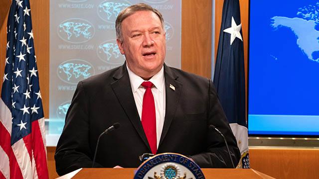 美國國務卿蓬佩奧就人權報告發言(公共領域)