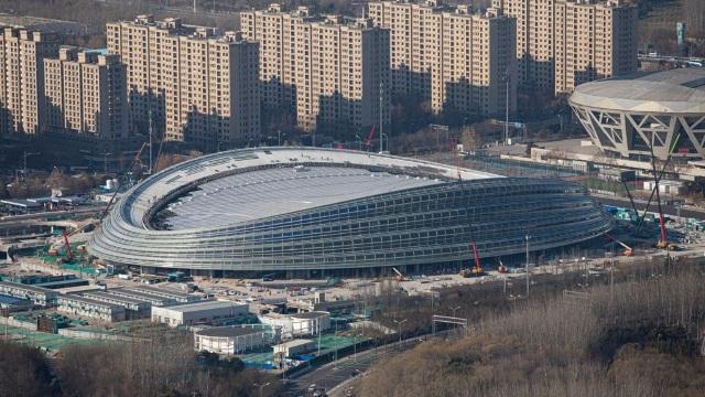 北京為迎接2022年奧運會興建的橢圓形國家速滑館( Photo/Map: Arne Müseler / arne-mueseler.com / CC-BY-SA-3.0)