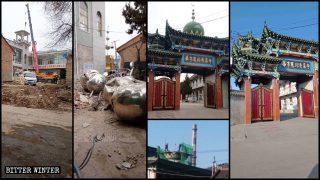 中共再拆大批清真寺伊斯蘭教標誌 阿語宣禮詞被迫換國歌