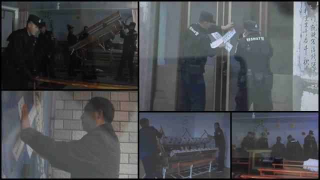 政府人員清理並查封內蒙古當地教堂