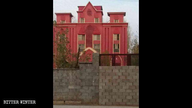 蒙恩堂三自教會大門被封死