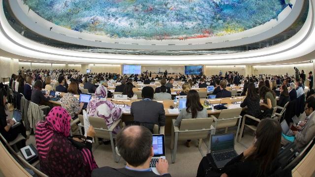 聯合國人權理事會在日內瓦舉行的會議(公共領域)