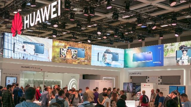 華為正在參加德國柏林的國際博覽會