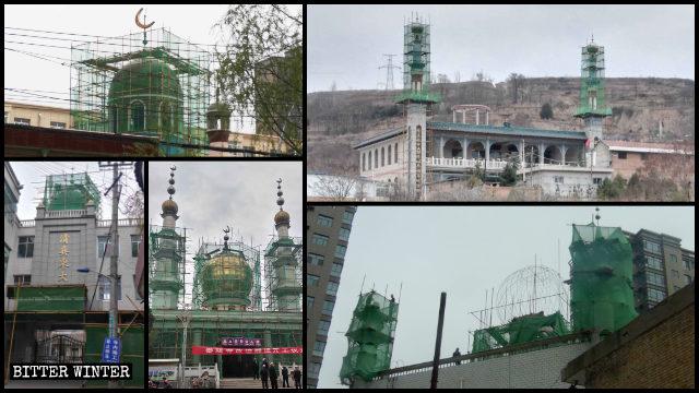 平涼市多處清真寺遭整改