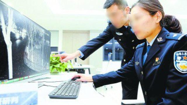 抓捕行動前警方正在監控追蹤目標(網絡圖片)