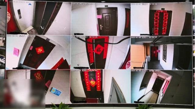 社區安裝攝像頭監控住戶(網絡圖片)