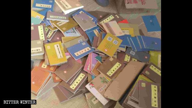 大量佛學書籍被視為「非法」遭查禁