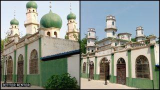 疫情間中共「中國化」改造大批清真寺 敢阻擋即逮捕拘留