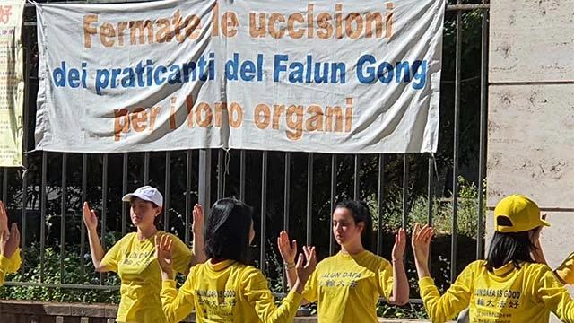罗马抗议活动的更多图片和视频