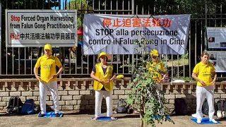 法輪功反迫害週年紀念日逾600立法議員譴責中國