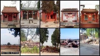 消滅宗教似文革:河南河北持續強拆取締大批民間廟宇