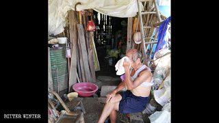 中共面子工程開空頭支票 多位老人房屋遭拆慘住竹棚至去世