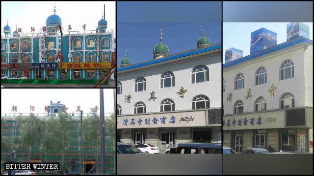 吉林省清真寺遭中國化改造