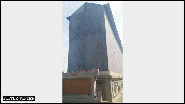 極樂寺如來八塔被改造