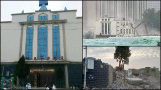 斷信徒恢復聚會念想 一月內多省接連暴力強拆基督教堂