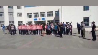 南蒙古:牧民抗議養豬場破壞他們的祖傳土地