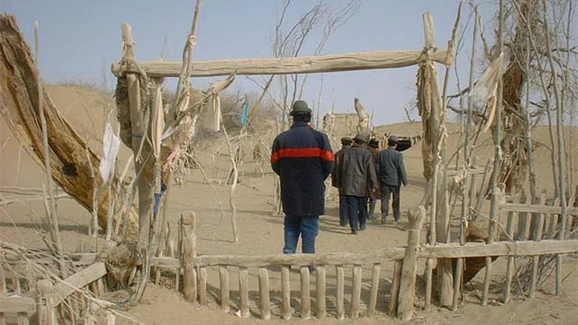 賈法里·薩迪克伊瑪目麻扎遭拆毀前(圖片來自Twitter)
