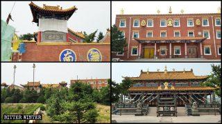 著名藏式千年古寺整改後仍被拆毀 因中共不許漢地有藏傳佛教