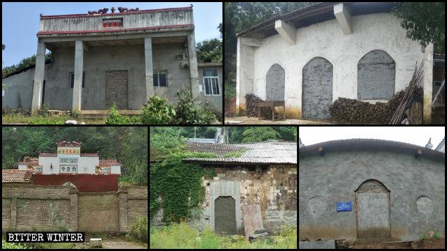 黃石市近100座寺廟被查封