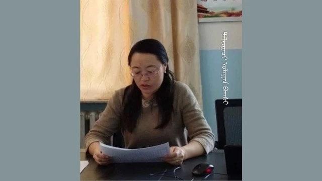 不少人以死抗爭,二連浩特某小學元校長便是其中之一(圖片鳴謝南蒙古人權信息中心)