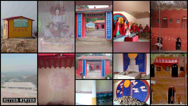 河北省大量民間寺廟被拆改