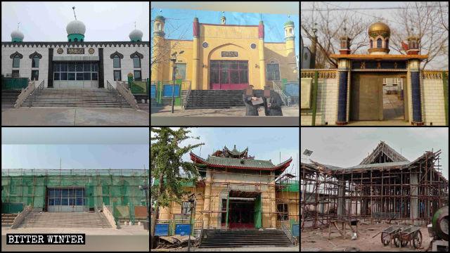 唐山市多處清真寺被中國化改造