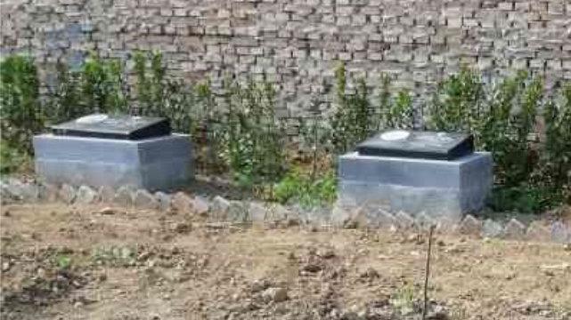 解州鎮在華宣教士墓碑(知情人提供)