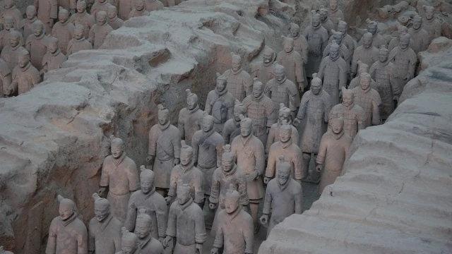 陝西兵馬俑,中國最著名的考古發現