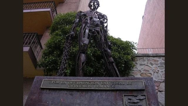 「紀念天安門」(西班牙雕塑家何塞·安東尼奧·埃爾維拉Jose Antonio Elvira作品)