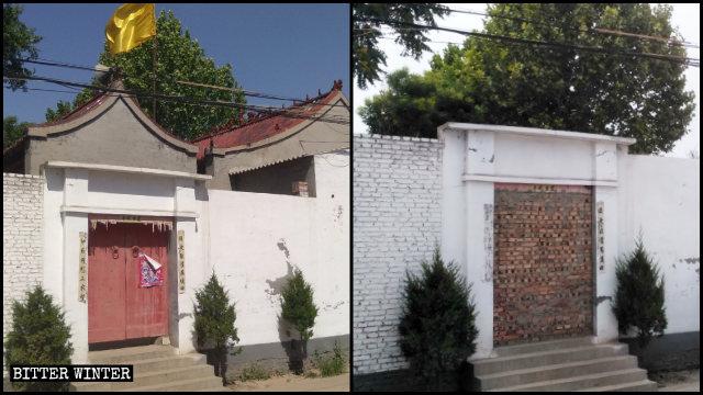 擁有百年歷史的文物保護古廟於6月底被拆毀