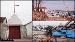 中共全國性強拆三自教堂及聚會點 政府人員:只能拆不能建