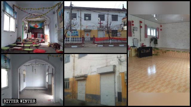 山東省各地三自教會聚會點被取締
