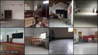 中共大面積取締基督教場所 數百官方、家庭教會被清空取締
