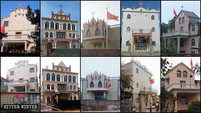 楓港鄉無數三自教堂十字架被拆