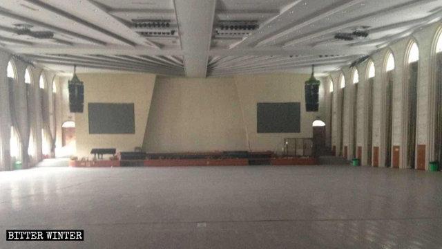 8月,柳市鎮一處靈恩派家庭教會被搬空